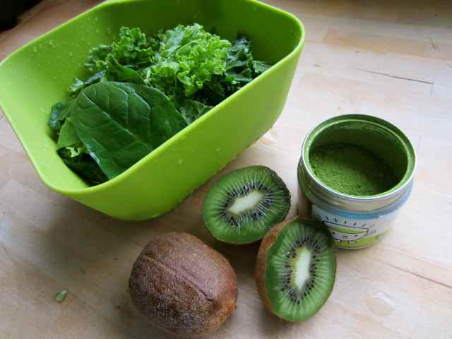 green things for green smoothie
