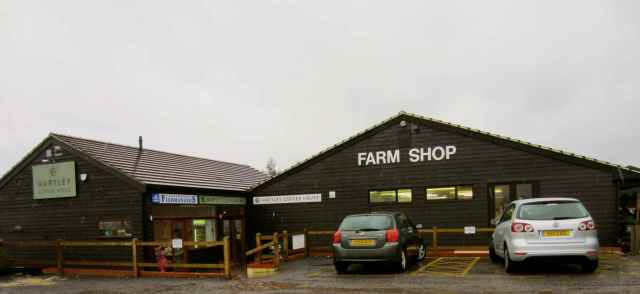 Hartley Dyke fish shop and farm shop