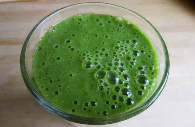 Matcha green smoothie 1