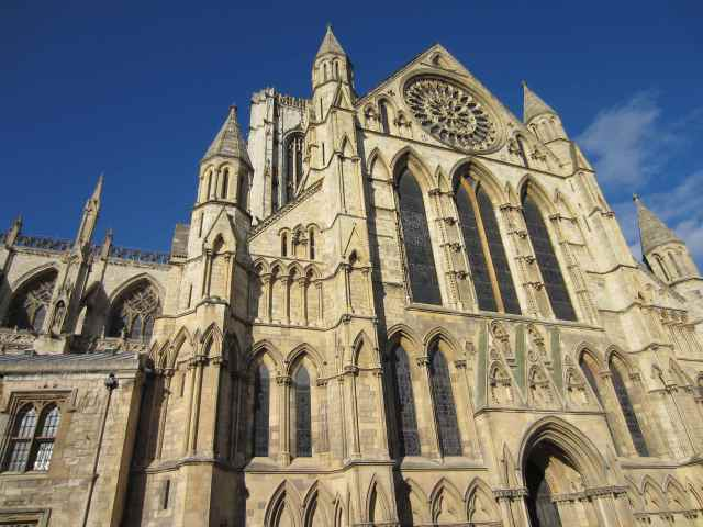 Outside York Minster 3