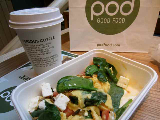 pod Superfood and latte