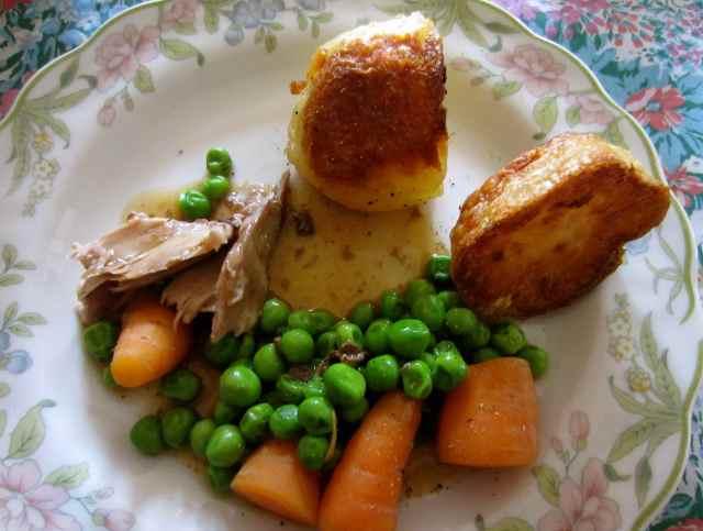 Small roast dinner