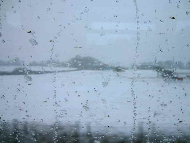 snow from train