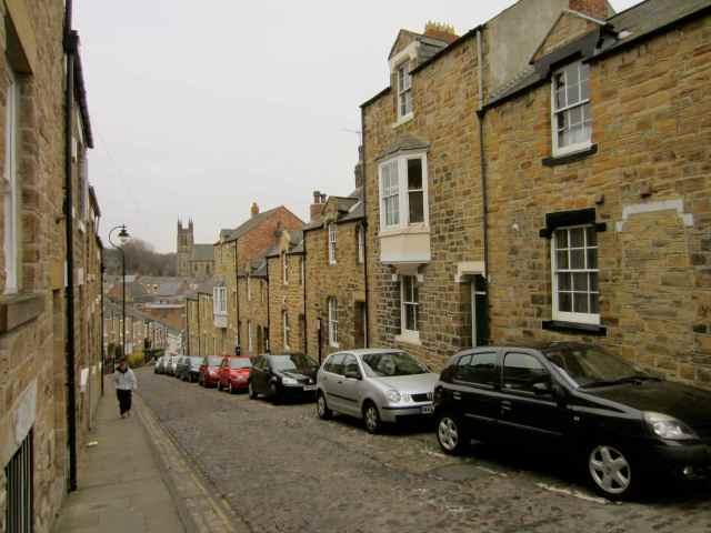 Steep Durham streets