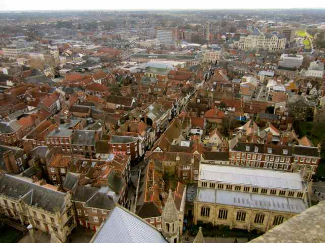 The Shambles from York Minster