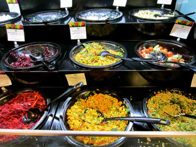 Waitrose salad bar