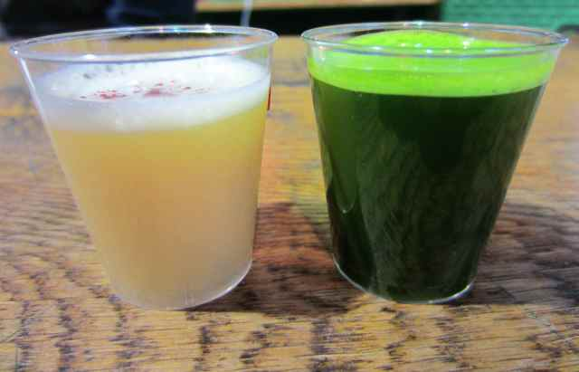 wheatgrass and ginger