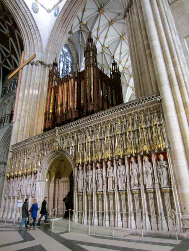 York Minster's organ
