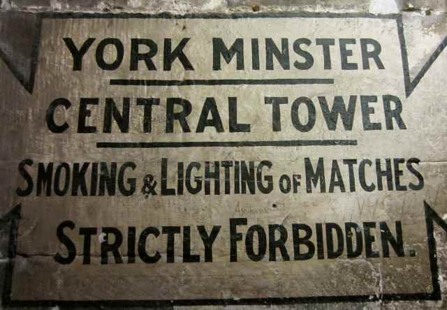 York Tower notice