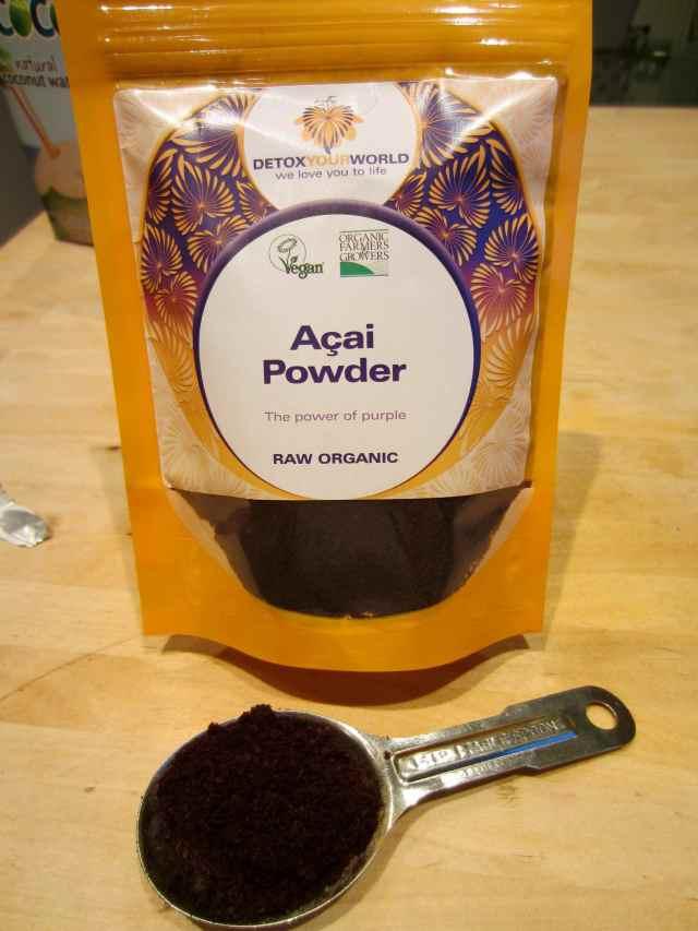 Acaii powder