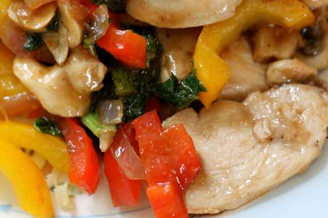 chicken in Hoisin sauce
