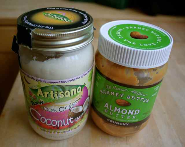 Coconut and almond butter