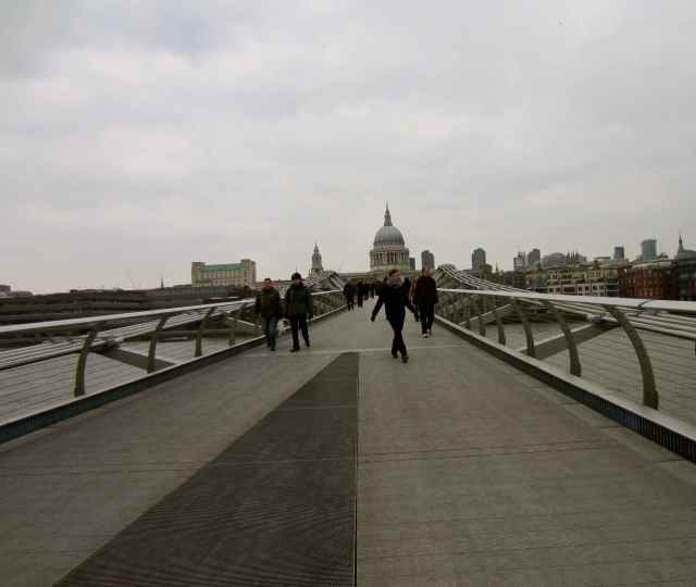Crossing the Millennium bridge