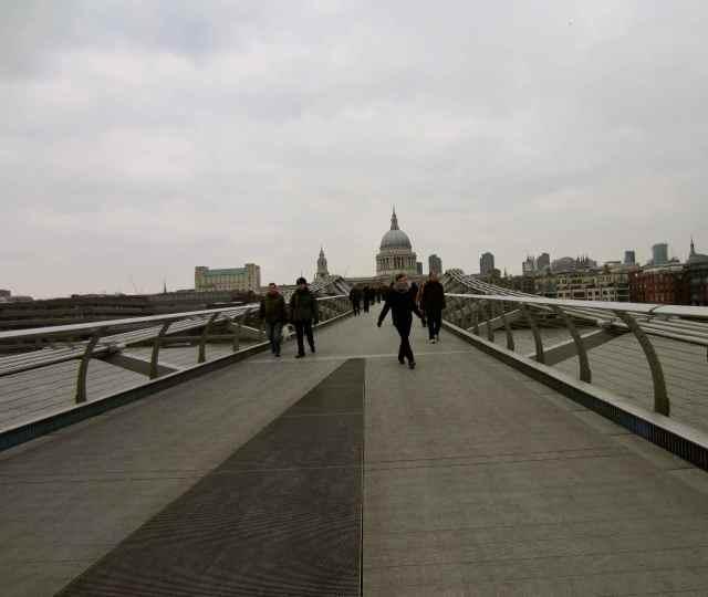 Crossing the Millennium bridge