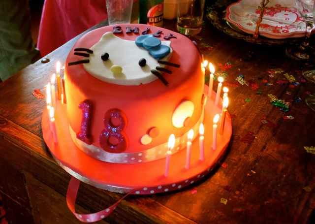 Emily 18 cake