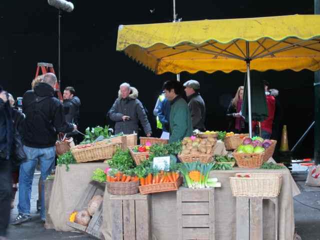 Filming in Borough