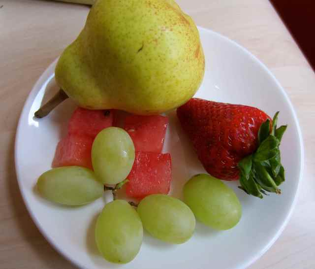 Fruit in hotel