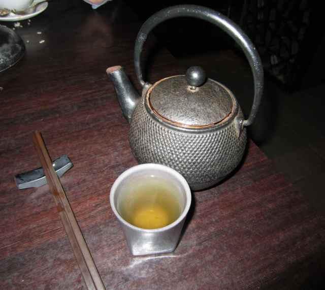 Jasmine tea Plum