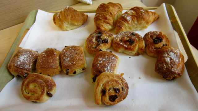 leftover pastries