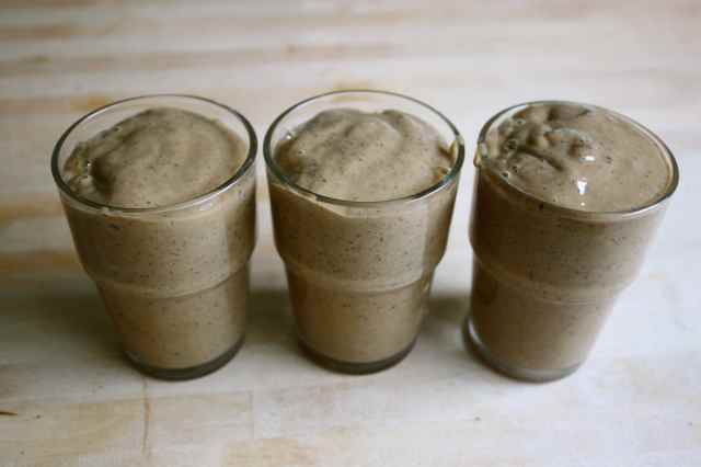 3 small smoothies