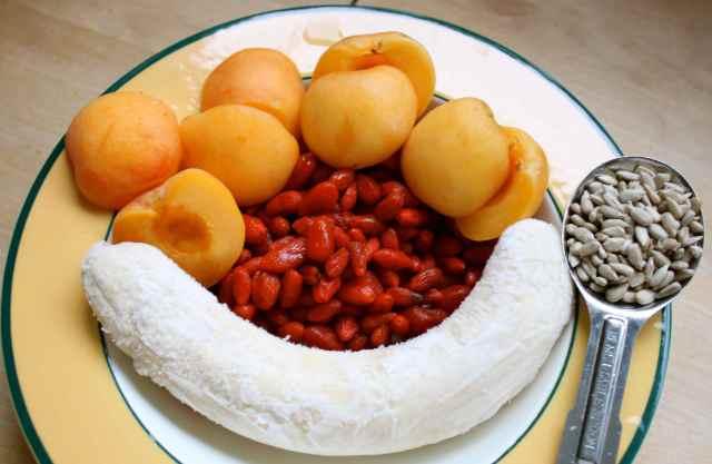 bowl of sunshine ingredients