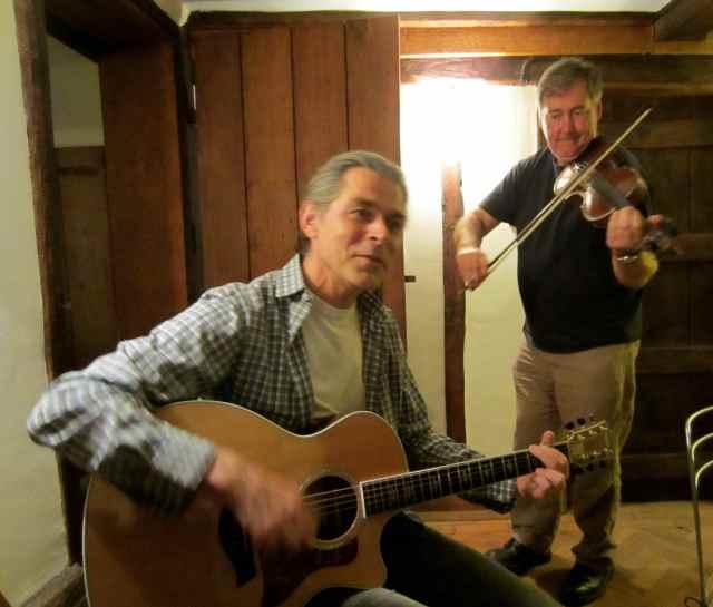 guitar and violin