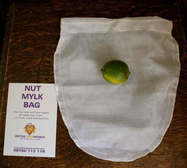 Nut mylk bag