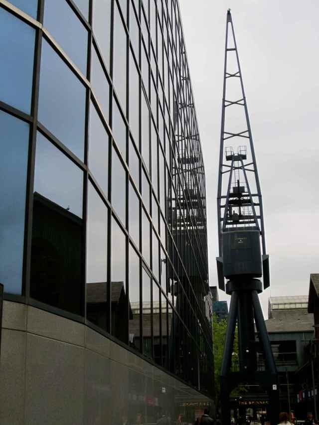 old docks crane