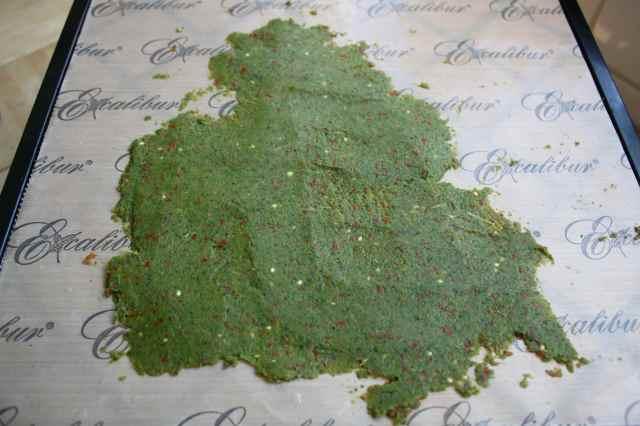 veg pulp crackers