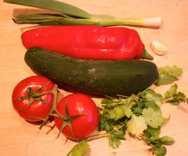 vegetables for smoothie