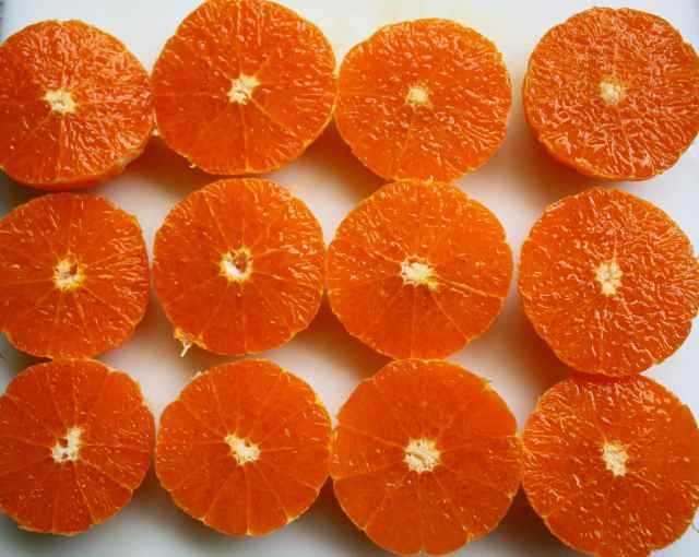 6 clementines
