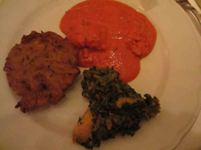 bhaji, Red Fort and sag aloo