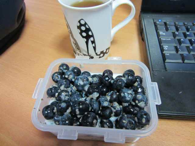 breakfast at work 6-6-13