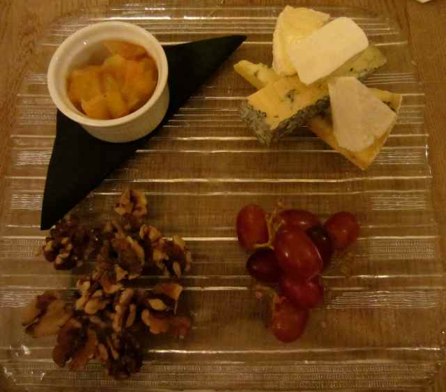 Cheese platter The George