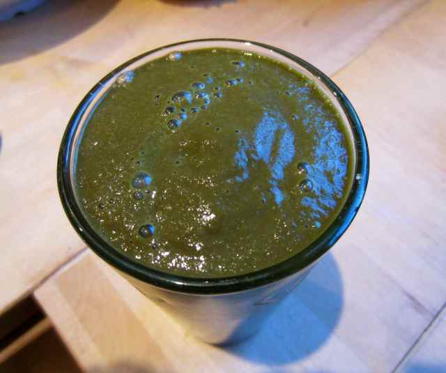 choc green smoothie 1