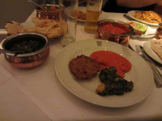 Curry at Indian Cavalry Club