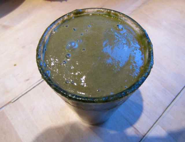 Green choc smoothie 2