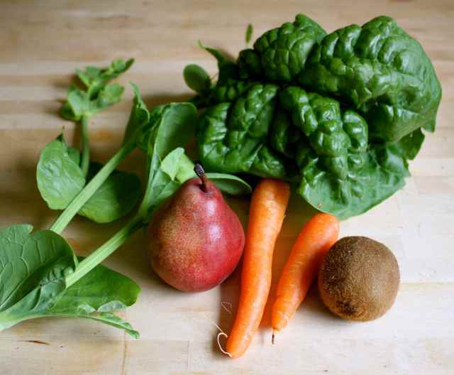 green juice ingredients 8-6-13