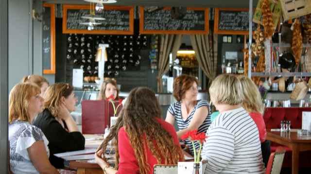 in the Brasserie 2