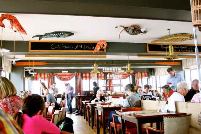 inside Ramsgate Brasserie
