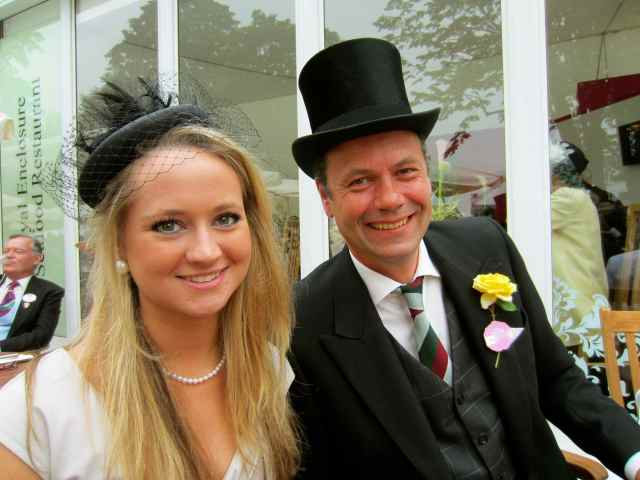 Lara and BJ Ascot 2013