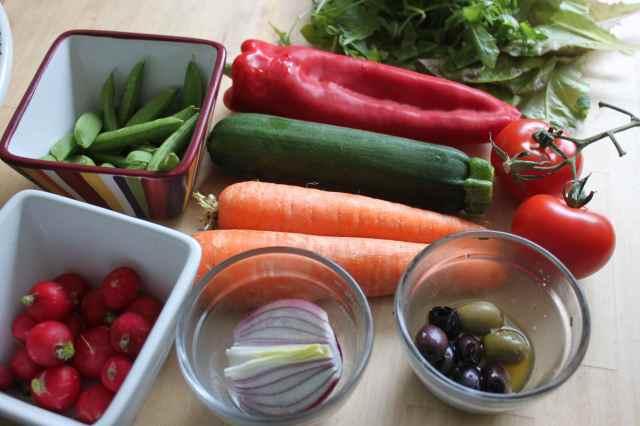 Making salad 9-6-13 3