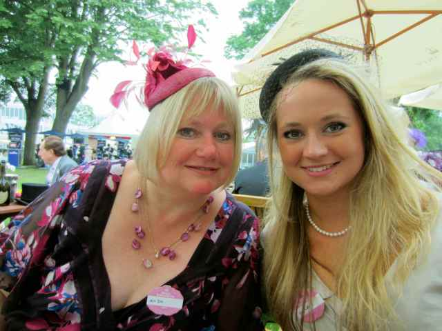 Me and Lara at Ascot 2013