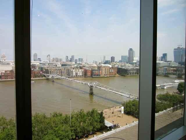 Milenium Bridge from Tate
