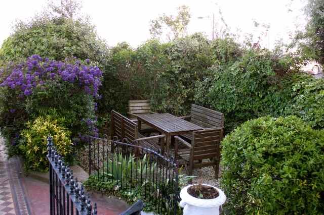 Tidy front garden