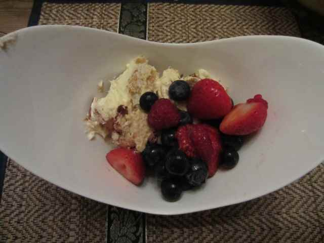 TiraMisu and Berries