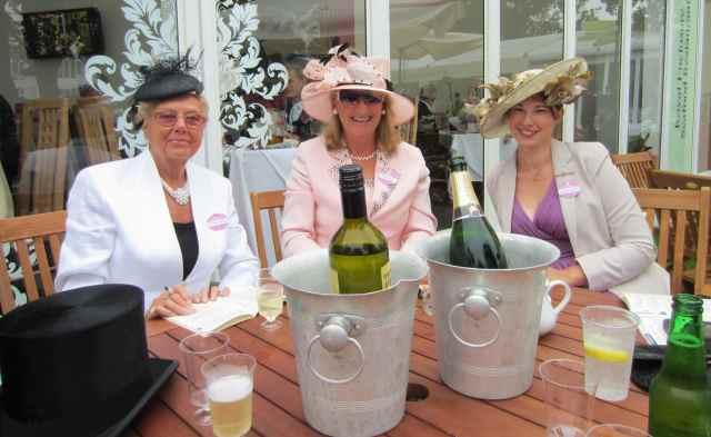 Vera, Caroline and Becky