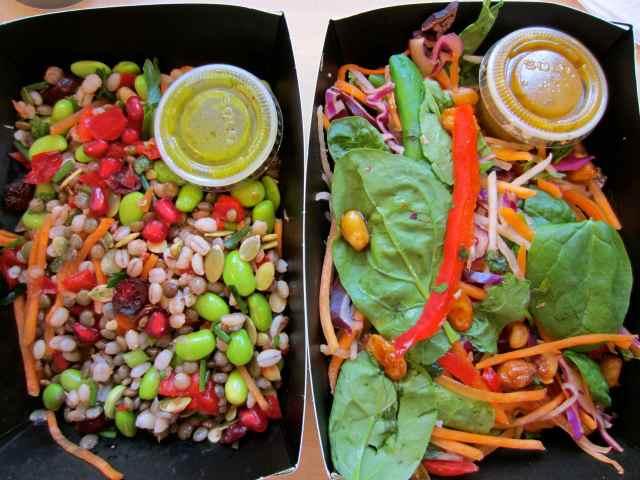 2 EAT salads