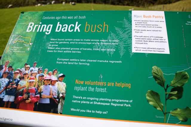 bring back bush sign