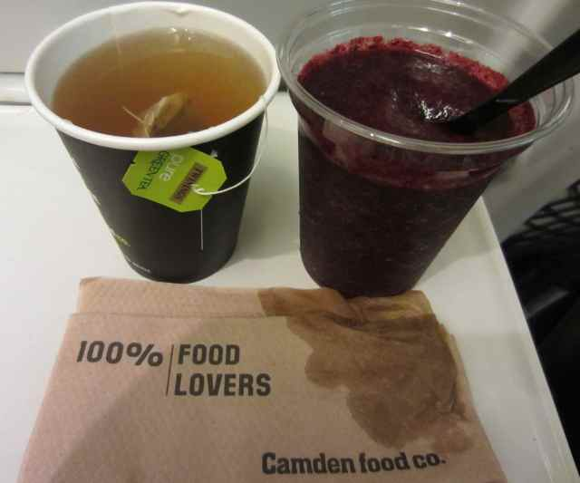 Camden Food Co smoothie